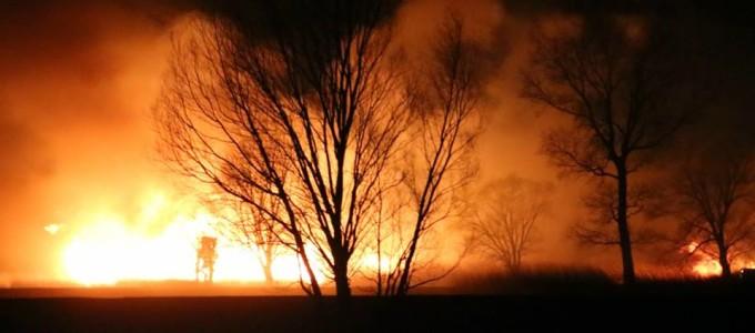 Incendio a Pian di Spagna (6)