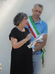40 anni biblioteca dervio_davide vassena_bibliotecaria Donata Gottifredi