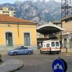 stazione lecco ambulanza polizia