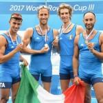 martino goretti canottaggio oro mondiale 2017 (1)