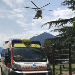 ambulanza elicottero bellano lago or