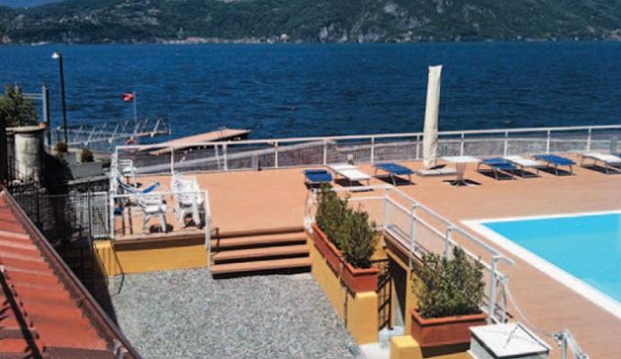 Perledo varenna nuovo lido a olivedo piscina pontile for Piscina rialzata