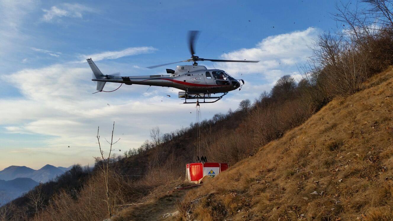 Elicottero Arancione : Incendi boschivi confermato per il weekend codice di