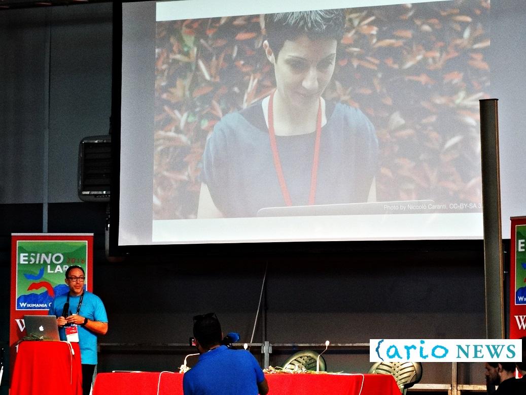 jimmy wales wikimania esino - iolanda pensa