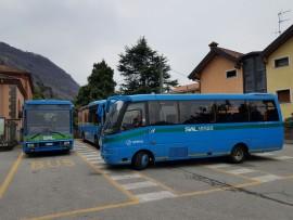 Bellano Stazione parcheggi autobus